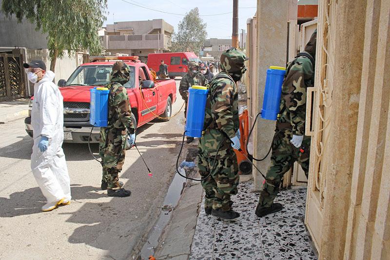 Меры по предотвращению распространения коронавируса в Сирии