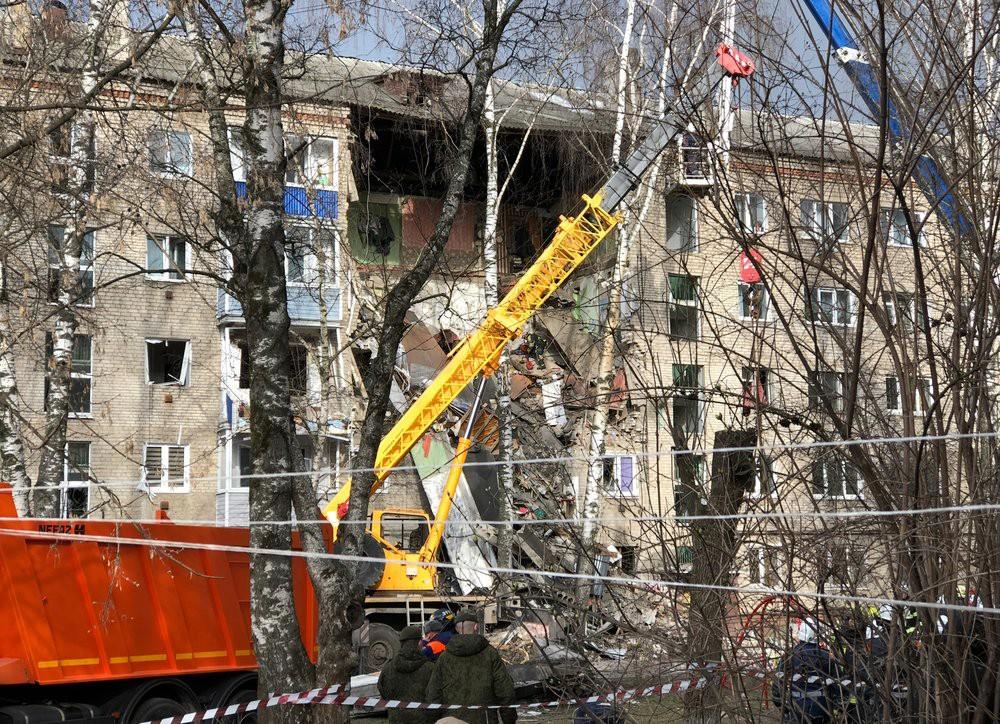 Последствия взрыва газа в жилом доме в Орехово-Зуеве