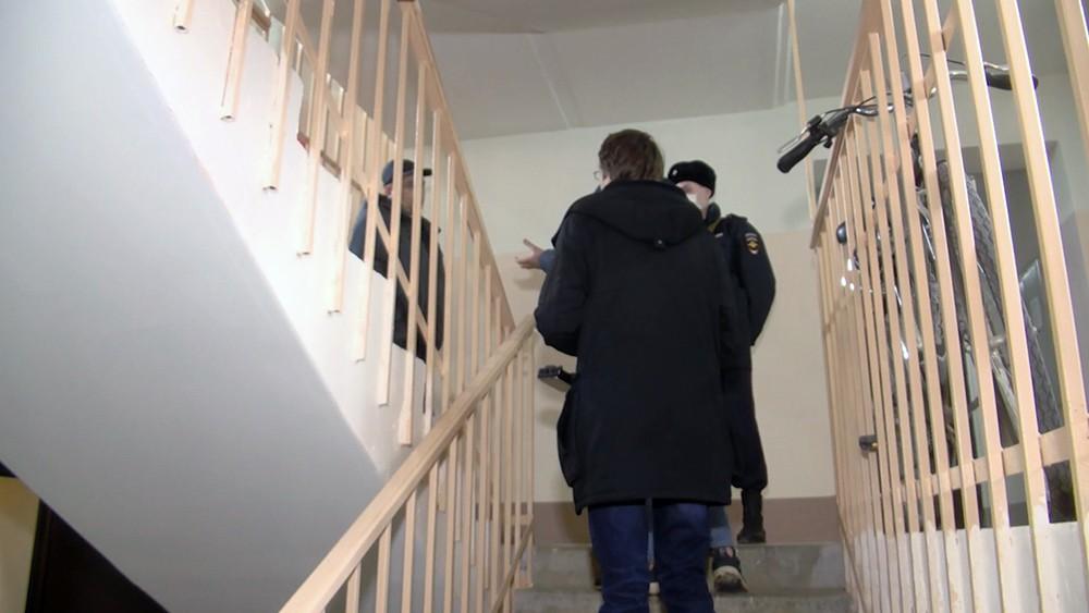 Место преступления в Рязанской облласти
