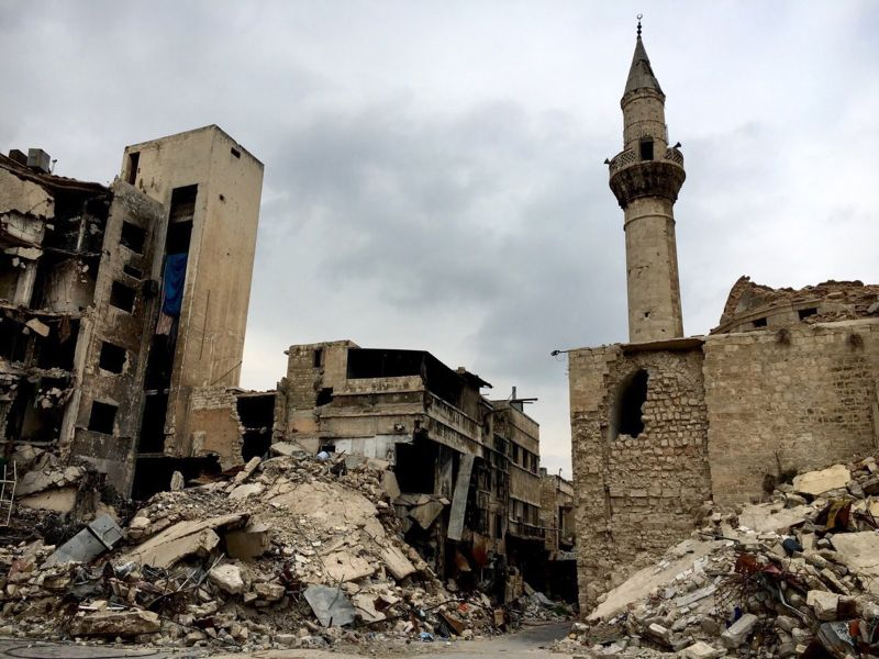 Старый город сирийского Алеппо