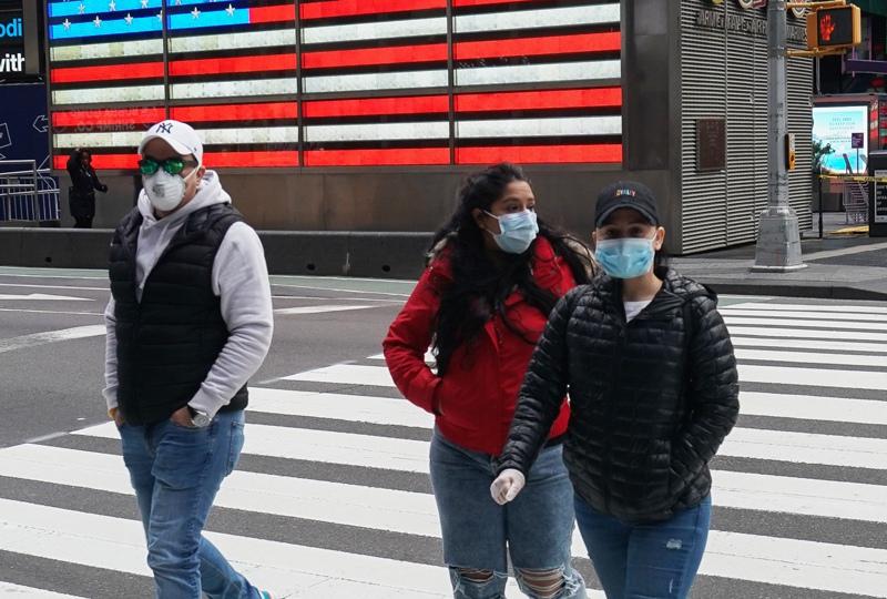 Вспышка коронавируса в США
