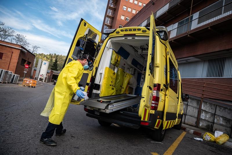 Эпидемия коронавируса в Испании