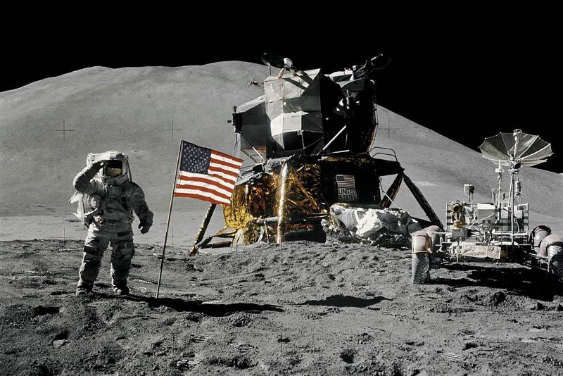 """Высадка на Луну. Программа """"Аполлон"""""""