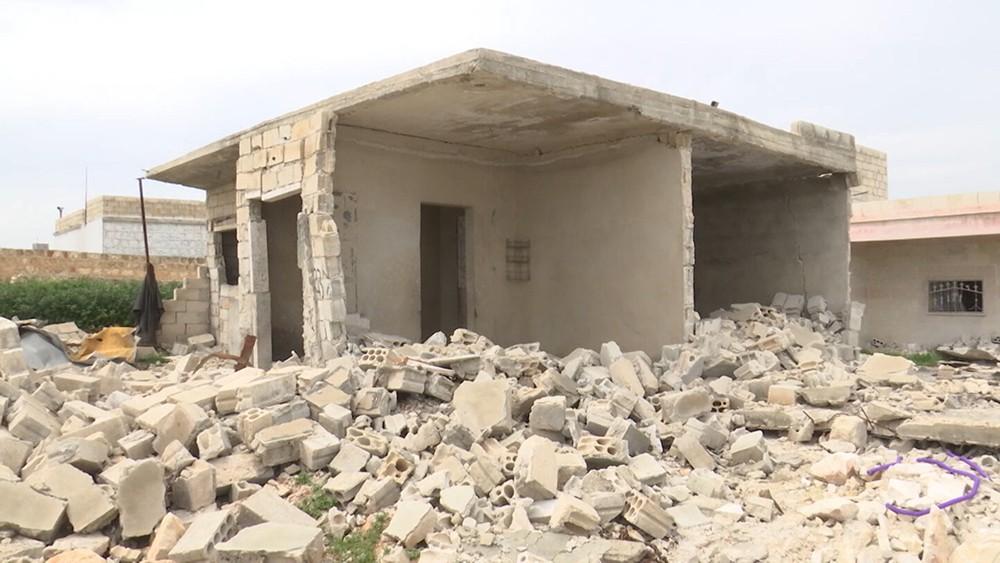 Склад боеприпасов в Сирии