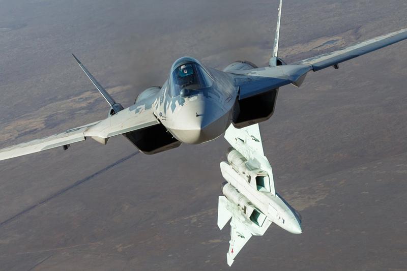Истребитель Су-57