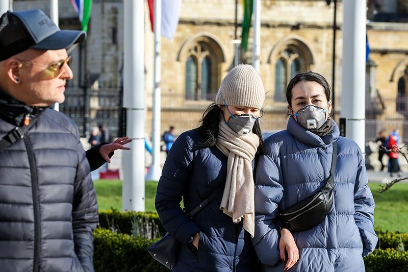 Вирус в Лондоне