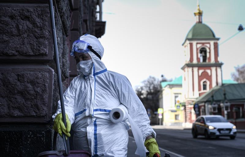Эпидемия коронавируса в России