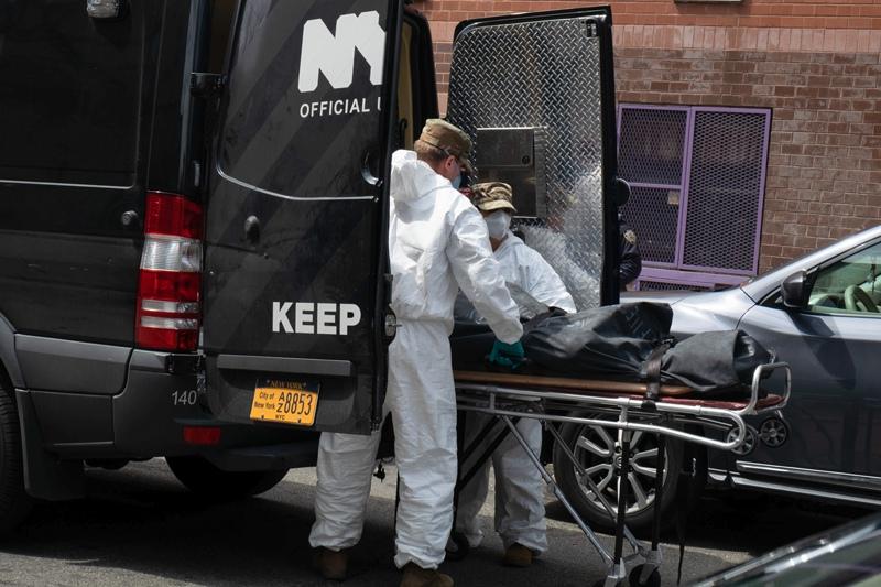 Эпидемия CoVID-19 в США
