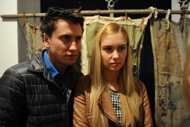 Актеры Агата Муцениеце и Павел Прилучный