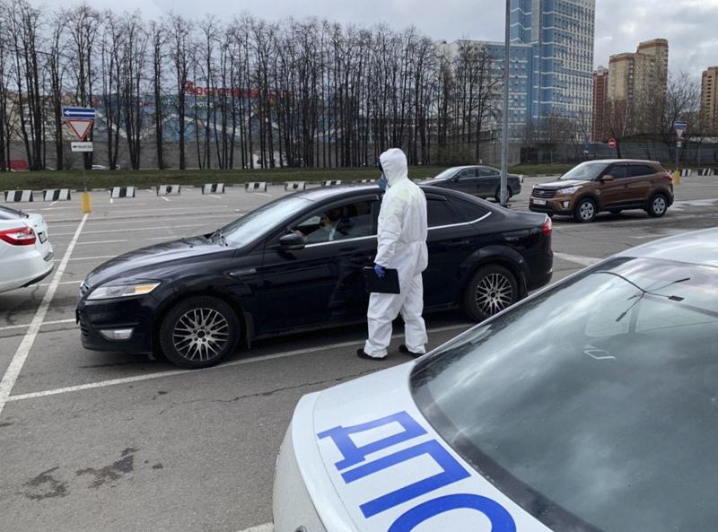 Задержание жителя Москвы, нарушившего карантин