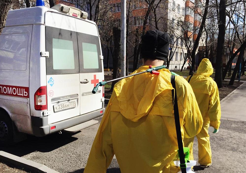 Меры по предотвращению распространения коронавируса в Москве