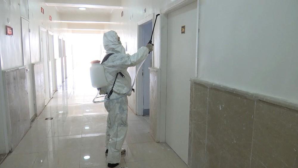 Борьба с коронавирусом в Сирии