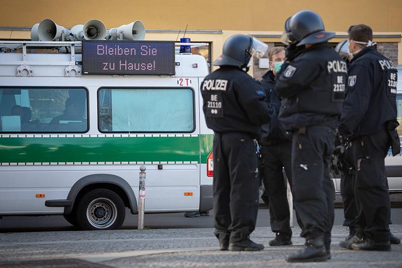 Вирус в Германии