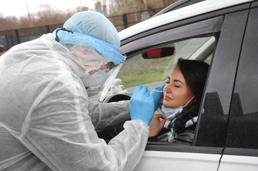 Водители сдают анализы на COVID-19