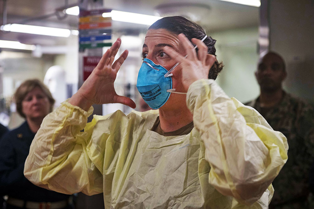 Меры по предотвращению распространения коронавируса в США