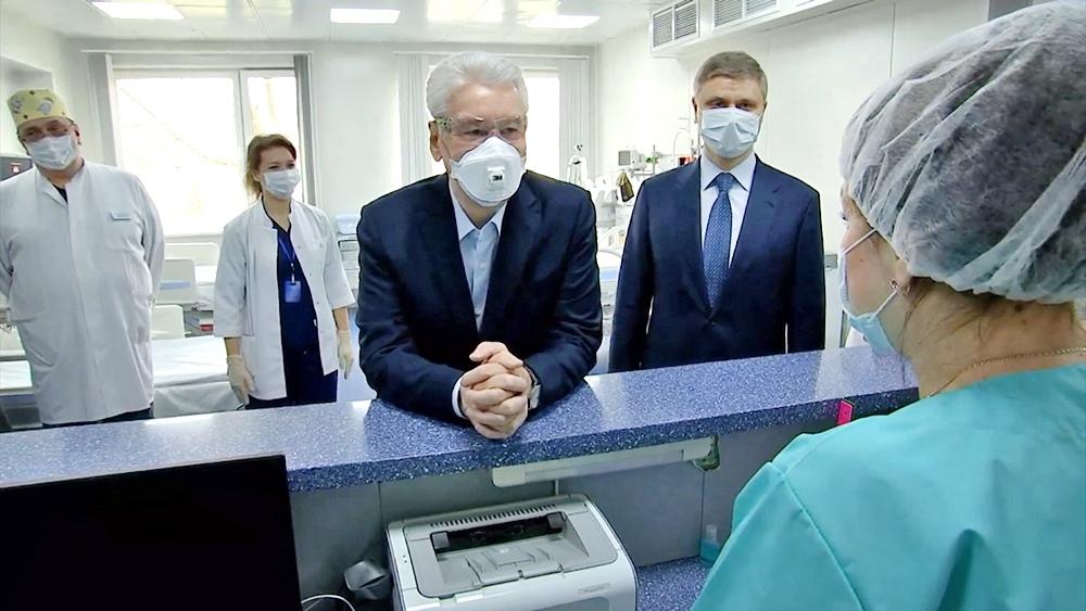 Сергей Собянин осмотрел больницу