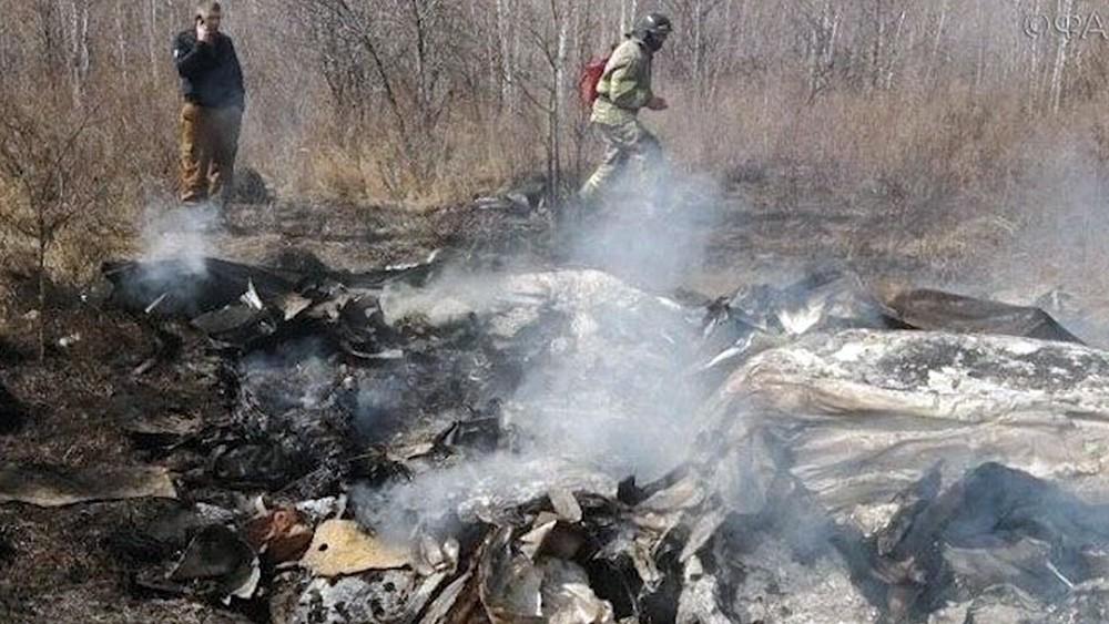 Последствия падения самолета