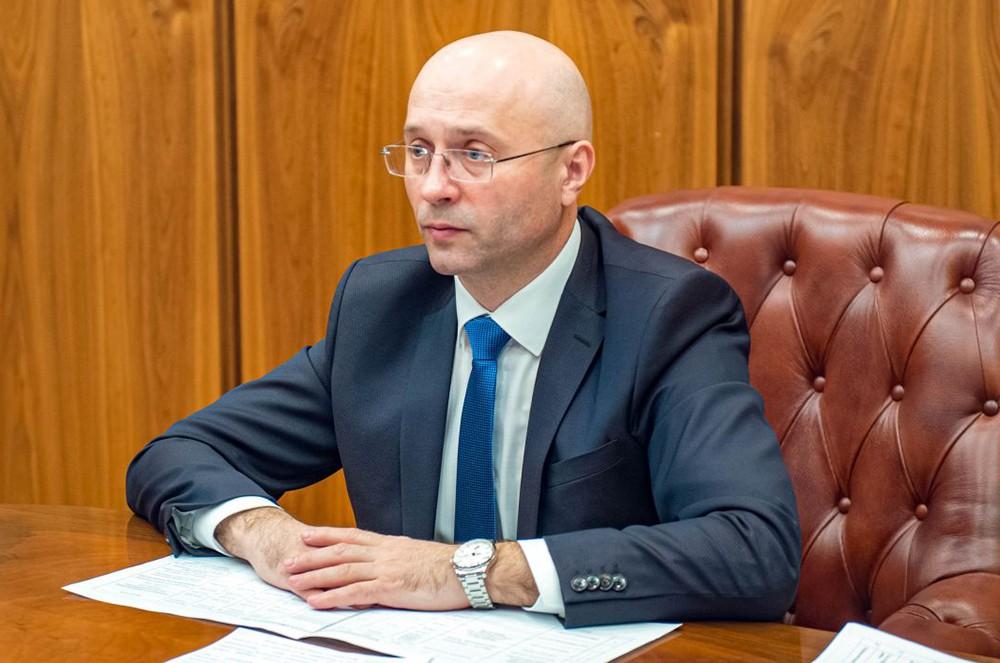 Замглавы Республики Хакасия Сергей Новиков
