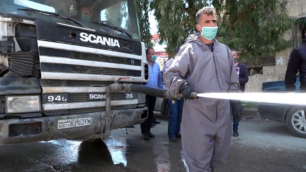 Дезинфекция в Сирии