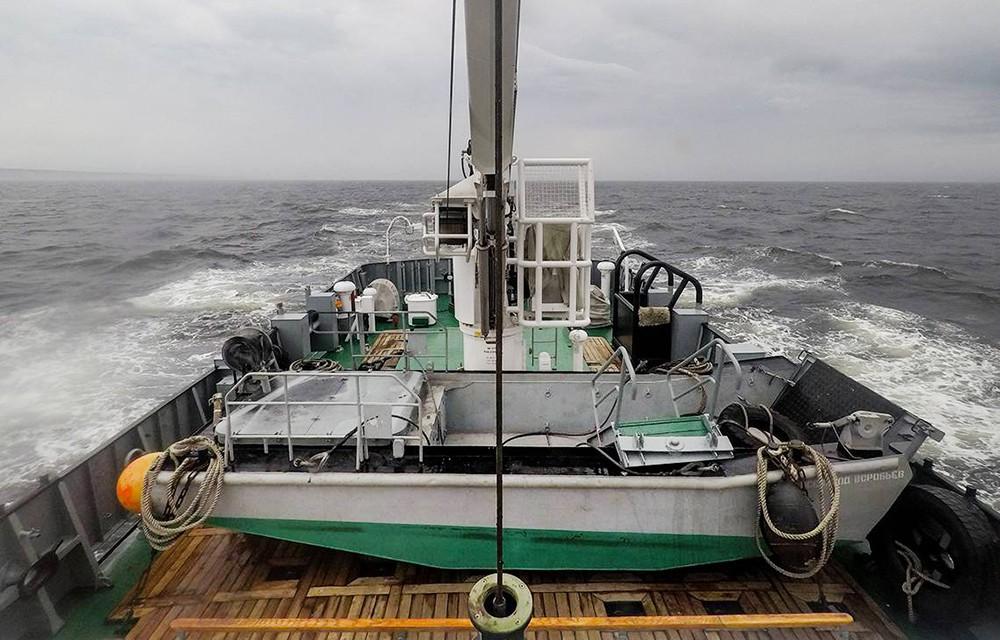 Судно в Белом море