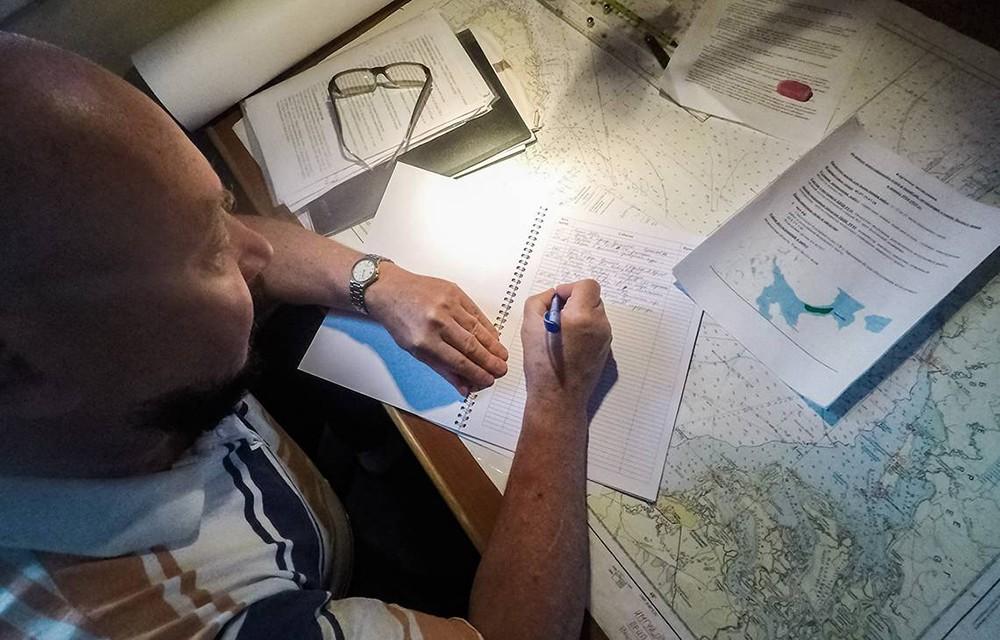Изучение Белого моря
