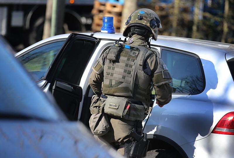 Спецназ на месте стрельбы в Канаде