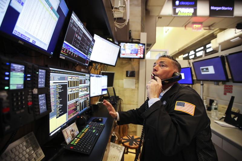 Фондовая биржа в Нью-Йорке