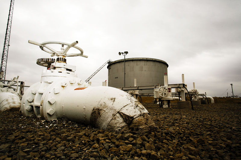 Нефтехранилища в США