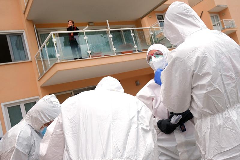 Эпидемия CoVID-19 в Италии