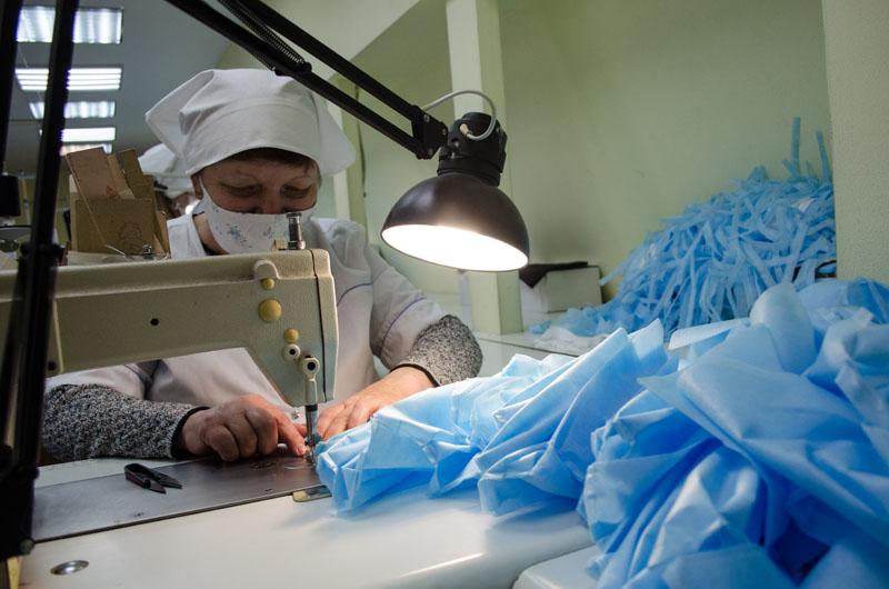 Изготовление защитных масок