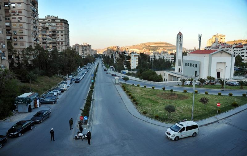 Дамаск во время карантина