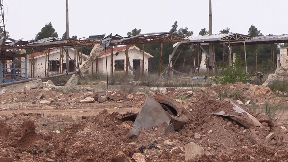 Разминирование города в Сирии