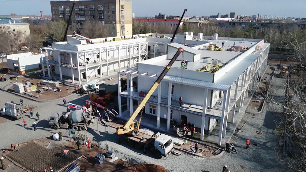 Минобороны строит медицинский центр