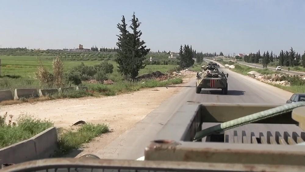 Патрулирование в Сирии