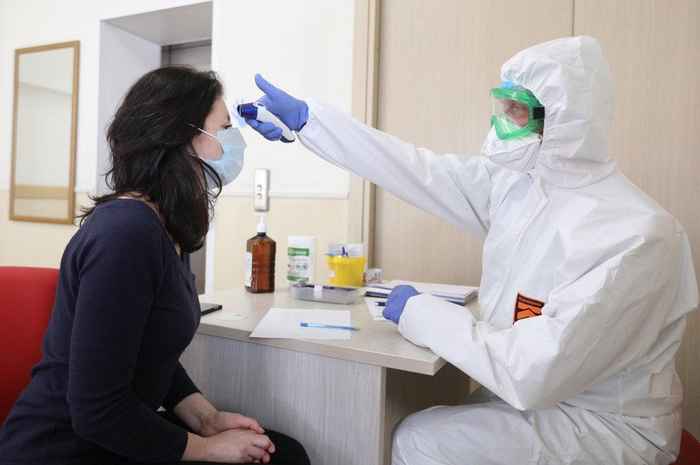 Сдача анализов на коронавирус