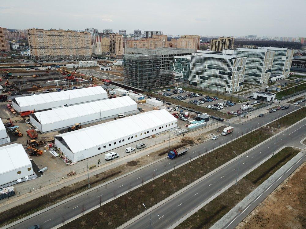 Строительство новых корпусов в Коммунарке