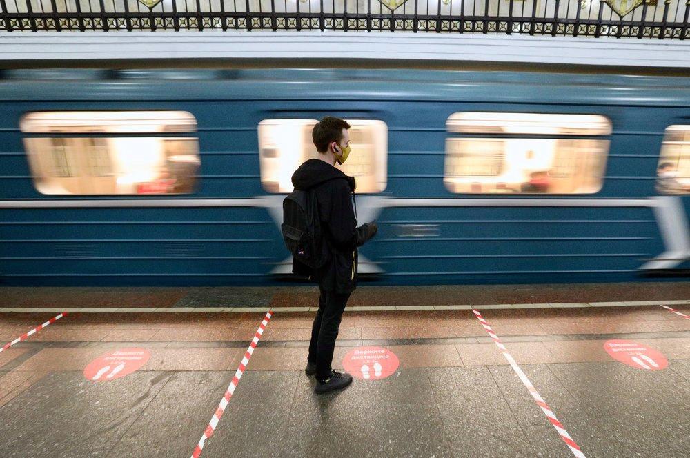 Дистанционная разметка в метро
