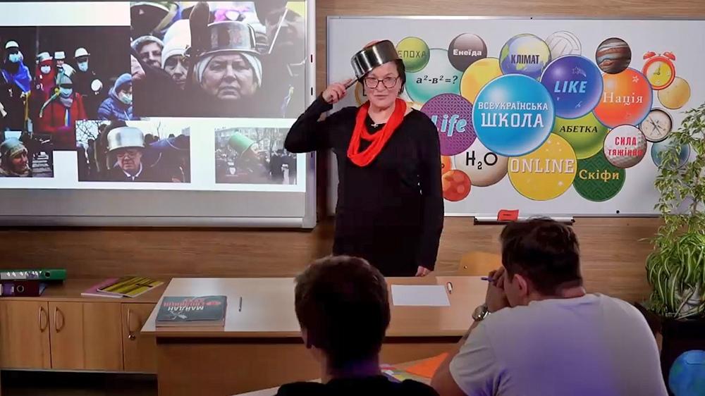 Украинская учительница рассказывает о Евромайдане