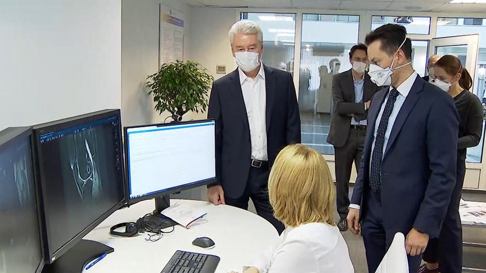 Сергей Собянин осмотрел референс-центра лучевой диагностики