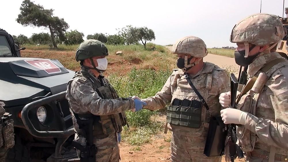 Российско-турецкое патрулирование в Сирии
