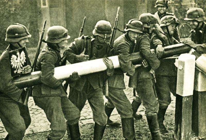 Войска Германии на территории Польши
