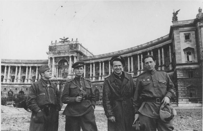 Освобождение Вены Советской армией, 1945 год