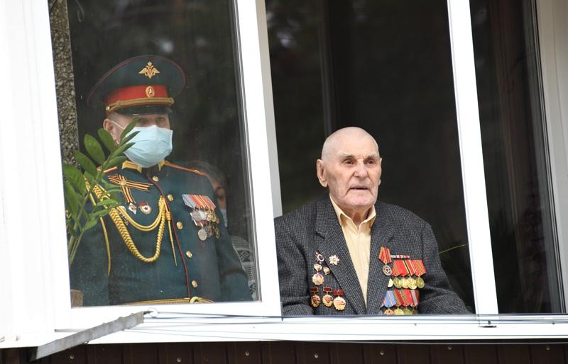 Поздравление ветерана Великой Отечественной войны