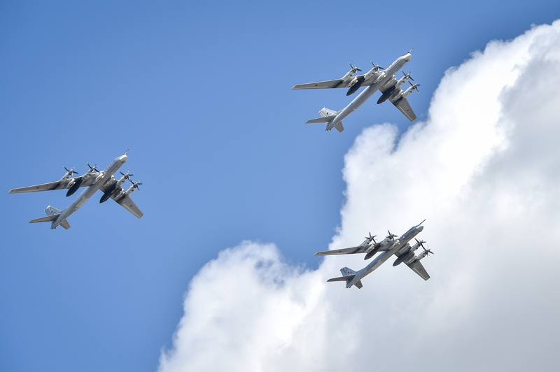 Воздушная часть Парада Победы