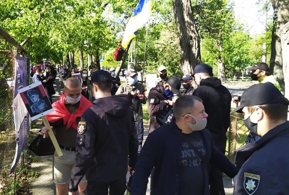 Шествие радикалов в Одессе