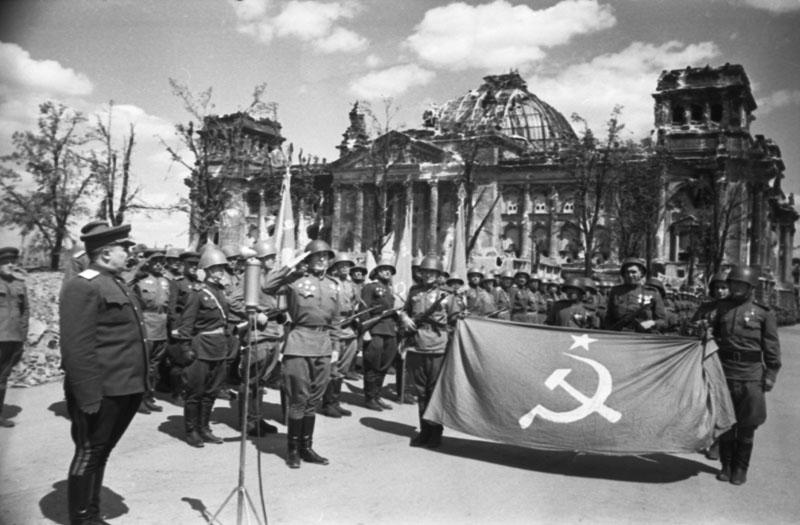 Советские войска в Берлине