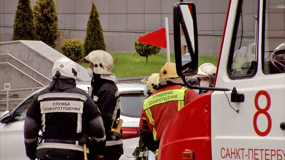 Пожарные Санкт-Петербурга