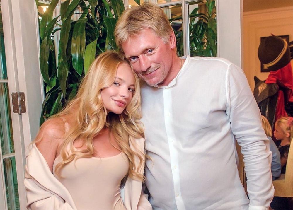 Дмитрий Песков со своей дочерью Лизой