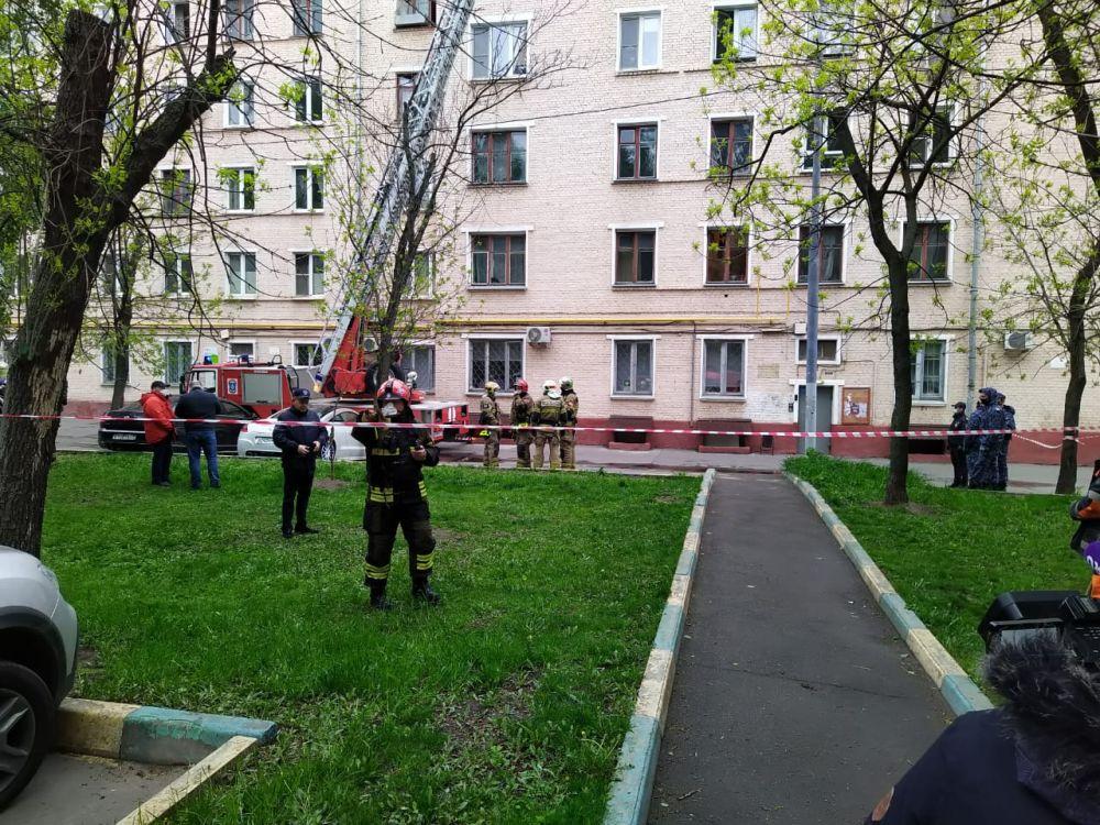 Обрушение перекрытий в Москве