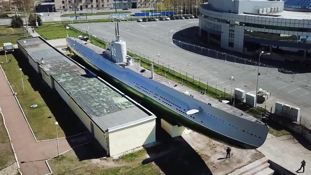 """Подводная лодка """"Народоволец"""" в Санкт-Петербурге"""